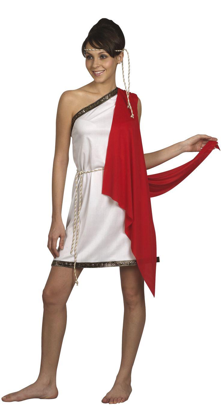 Kostuum van een Romeinse godin