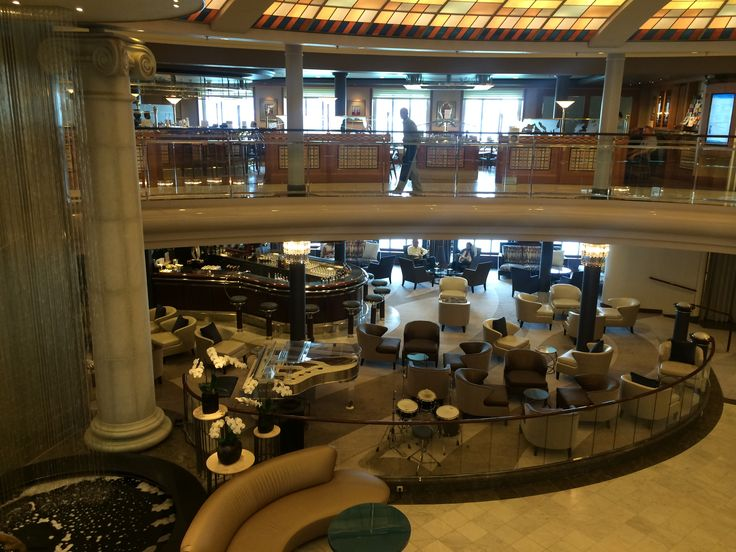 Crystal Cruises - Crystal Symphony, The Atrium