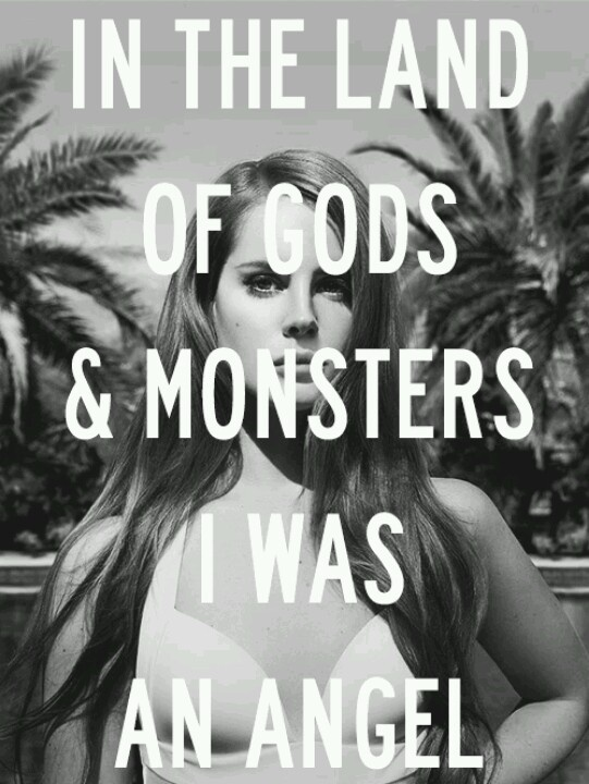 Lana Del Rey - Gods and Monsters - LOVE. this. song.