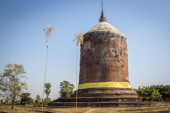 The ancient Pyu city of Sri Kestra, Pyay, Myanmar (Burma)