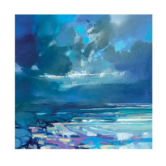 Art Group 'West Coast Blues I' by Scott Naismith Painting Print & Reviews   Wayfair.co.uk