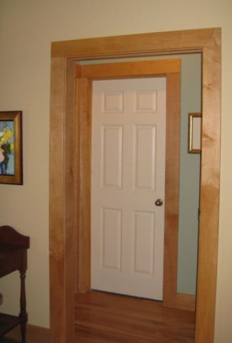 Wood Trim White Doors Google Search Dyi White