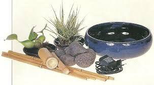 Resultado de imagem para fuentes de agua con bambu