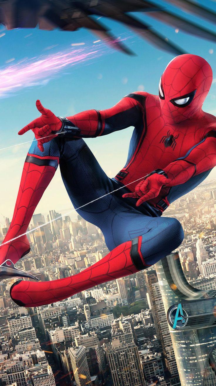 Spider-Man: Homecoming (2017) Phone Wallpaper | Moviemania