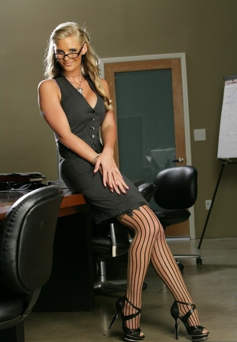 Secretary Phoenix Marie A Nice Outfit Love The Black