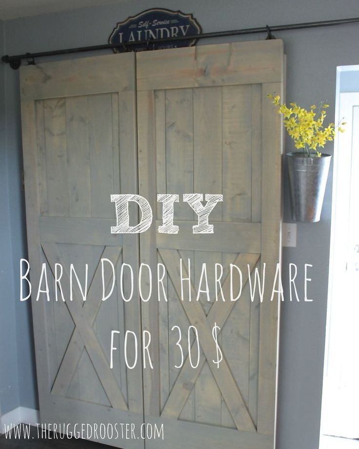 30$ Easy Sliding Barn Door Hardware