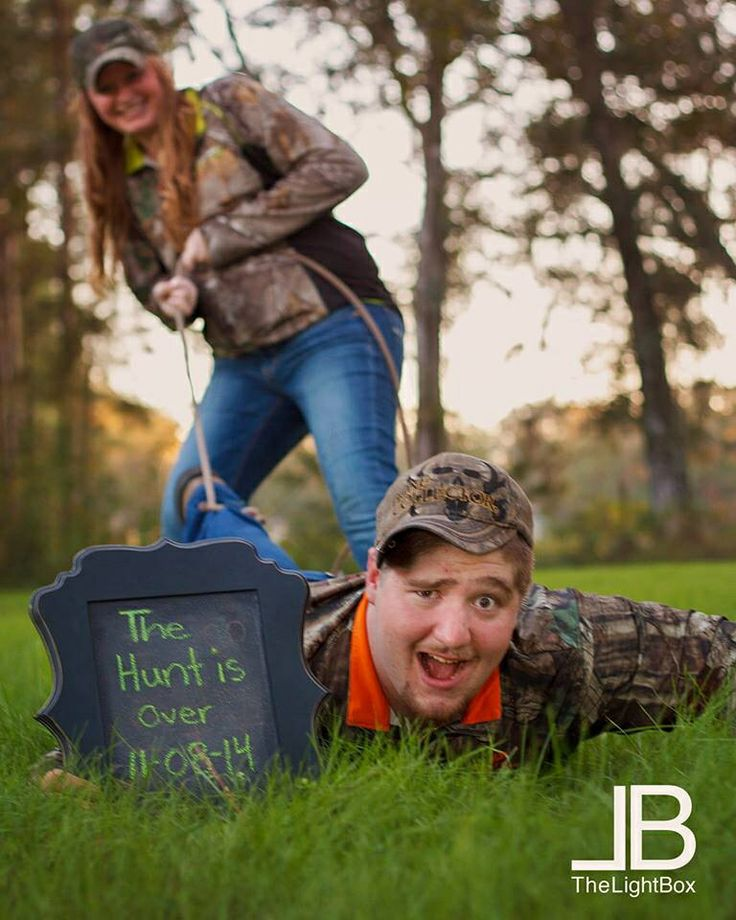 Engagement Photo Ideas: The Hunt Is Over! Absolutely Doing This For Our Engagement