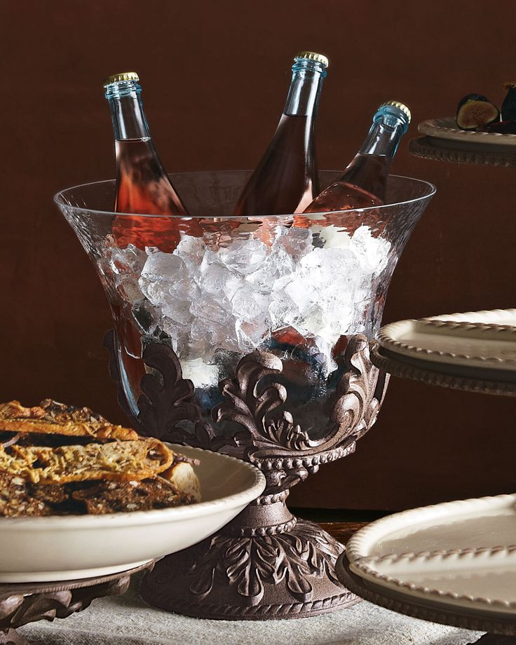 """GG Collection """"Baroque"""" Beverage Tub - Horchow"""