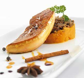 Foie gras poêlé au pain d'épices, réduit de Porto blanc  de Jonathan Garnier