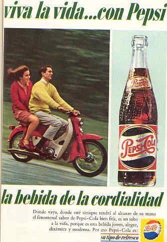 Pepsi - Publicidad antigua