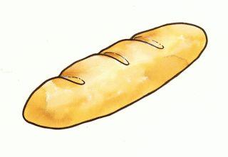 dibujo de pan para imprimir
