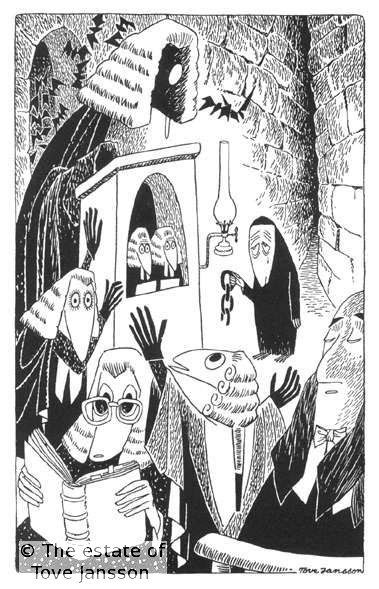 The Hunting of the Snark: The Barrister's Dream, illustrated by Tove Jansson