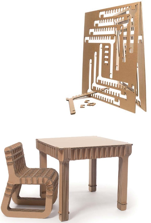 how to build cardboard table