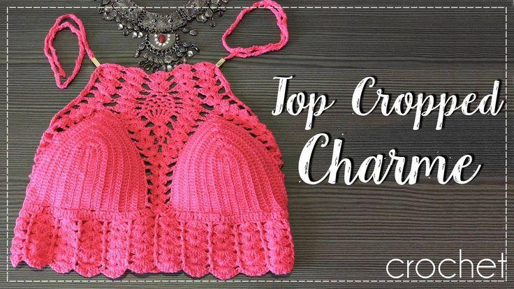 TOP CROPPED CHARME/DIANE GONÇALVES