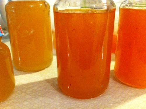 Päron marmelad med saffran
