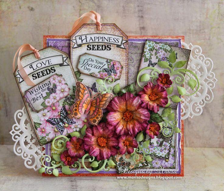 17 Best 1000 images about Heartfelt CreationsSusans garden paper