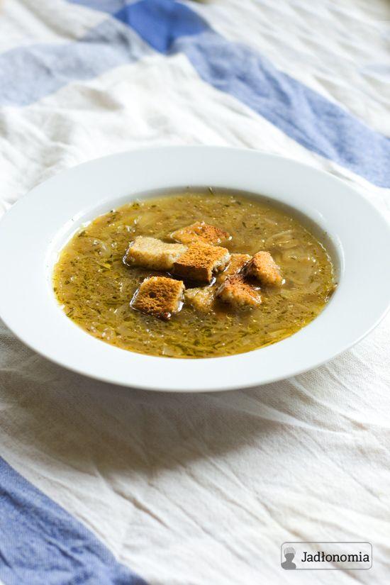 Francuska zupa cebulowa » Jadłonomia · wegańskie przepisy nie tylko dla wegan