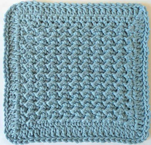 Lumpy Dishcloth- Easy- Crochet Knit & Crochet... Pinterest Gardens,...