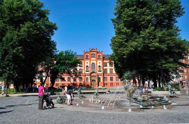 15 Amazing University Campuses Worth Visiting - UNIVERSITÄT ROSTOCK. Rostock, Germany
