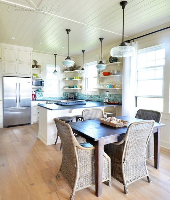 Best 25 Beach Cottage Kitchens Ideas On Pinterest: 25+ Best Ideas About Beach Cottage Kitchens On Pinterest