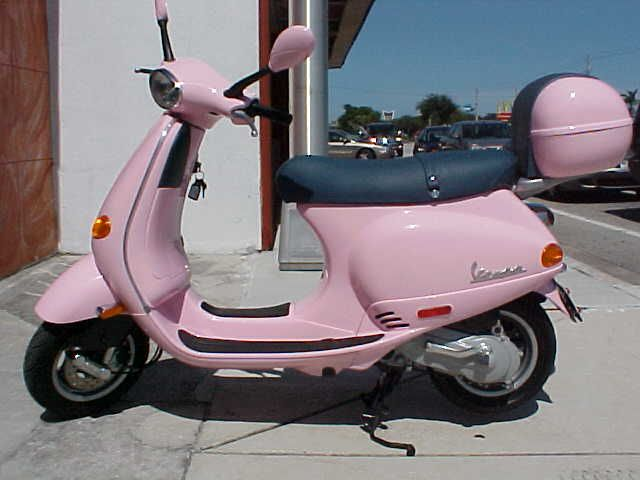 PINK VESPA ET2 SCOOTER USED FLORIDA USA