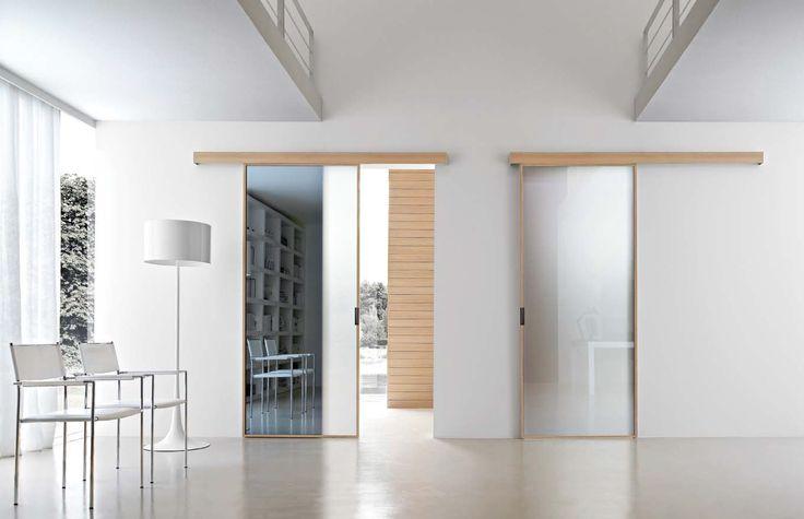 Porta scorrevole in vetro a specchio STIKLA Collezione Stikla by DOOR 2000 by Gruppo Door 2000