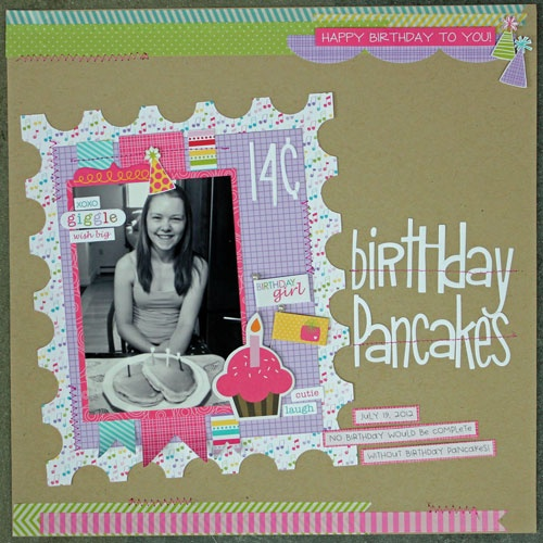 10 Best Images About Birthday Party Scrapbook Ideas On