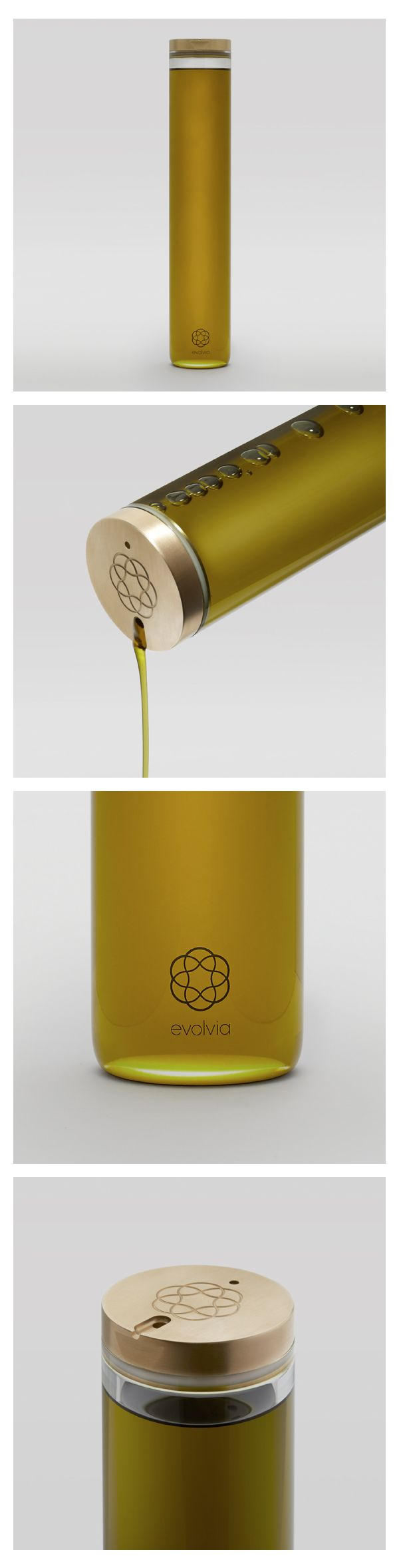 Luxurious Portuguese organic extra virgin olive oil, British-made, Limited Edition keep-forever glass pourer.