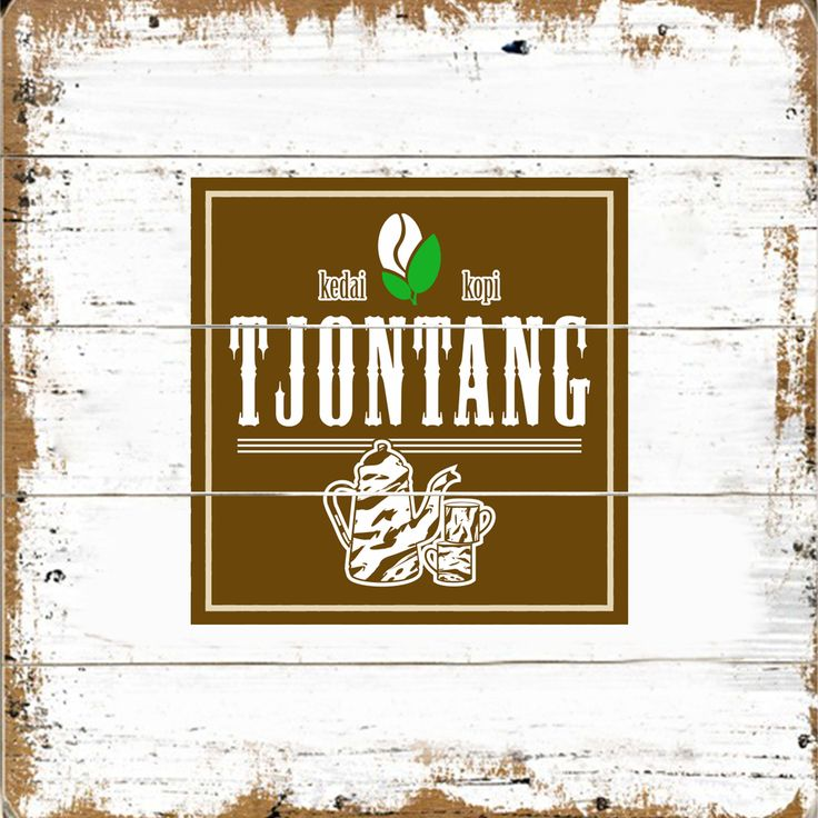 Logo, artwork, indonesian coffee shop