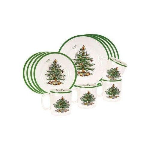 Christmas-Dinnerware-Set-Kitchen-Porcelain-Dining-Bundle-Salad-Dinner-Plates-Mug