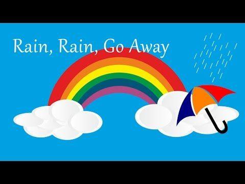 Rain, Rain, Go Away (instrumental - lyrics video for karaoke)