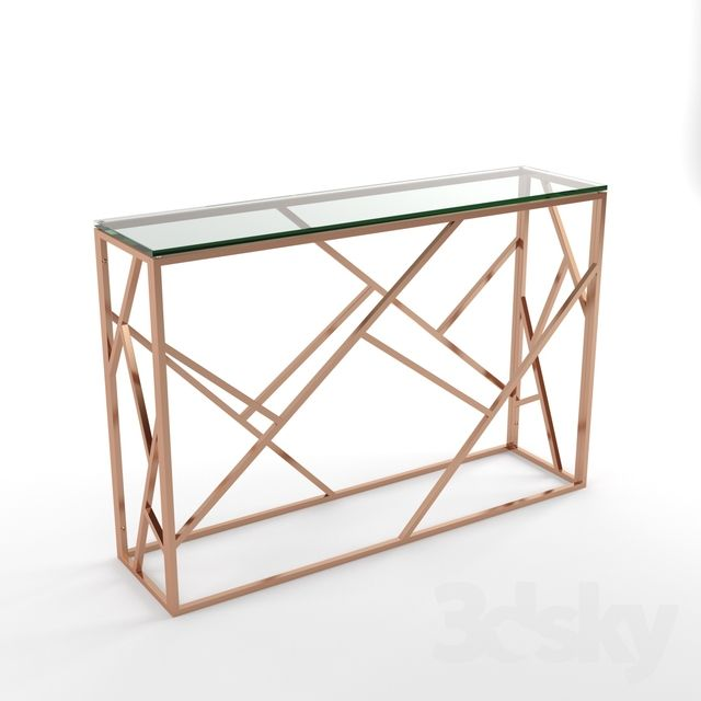 3d Models Table Phoenix Occasional Console Table Console