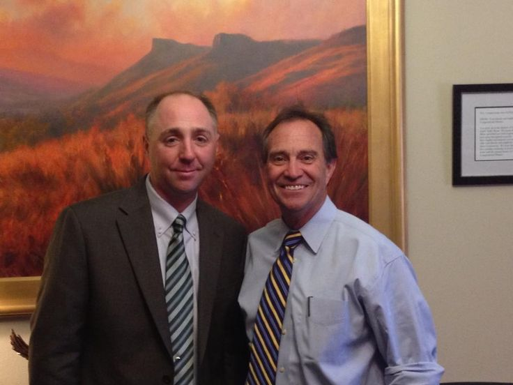 Jeff Malone (Vice President of RSI) and Congressman Ed Perlmutter -May 2013