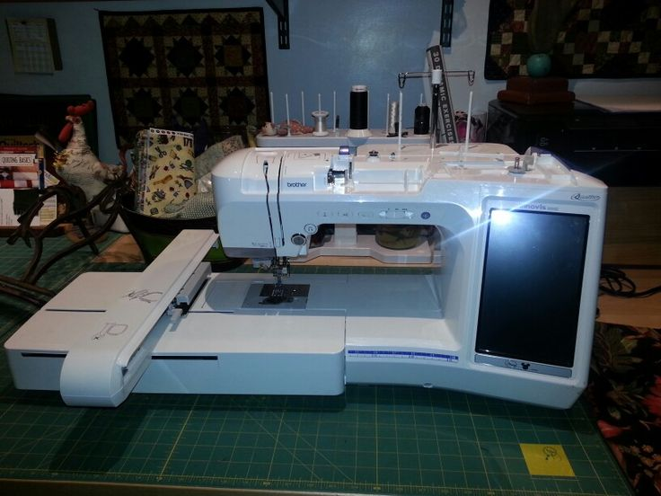 40 Best Brother Images On Pinterest Brother Sewing Machines Beauteous Brother Quattro 6000d Sewing Embroidery And Quilting Machine