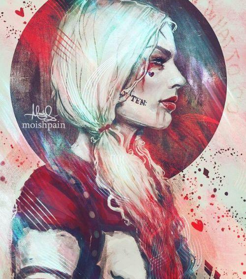 Harley Quinn by moishpain
