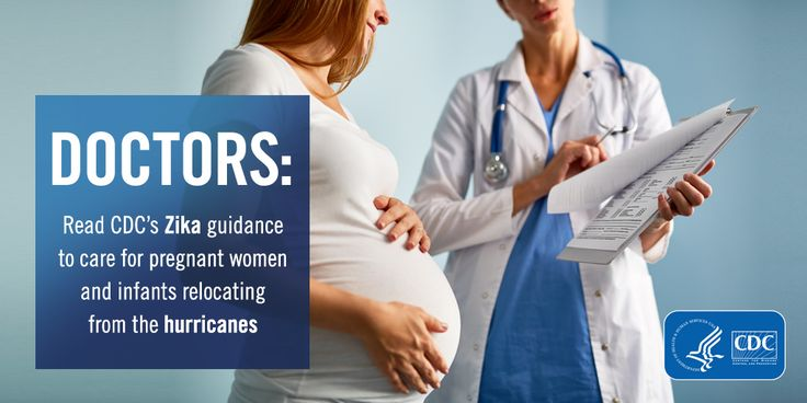 Visit CDC's interim guidance to learn how to care for pregnant women affected by #Zika who have relocated b/c of the recent #hurricanes.