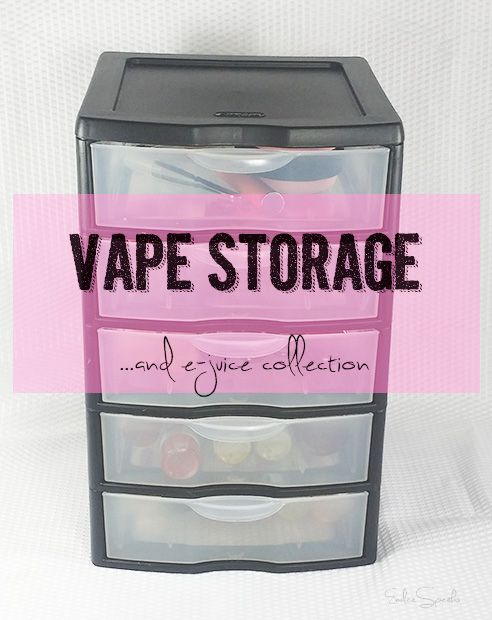 Seriously go to fucking ikea and youll find the best cheap shit to store your vaping material mods attys tools etc.