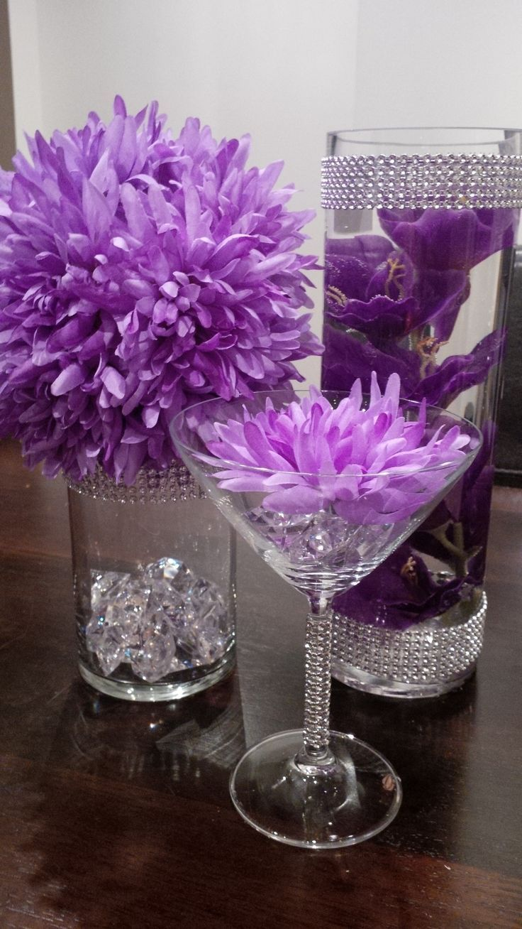 Diy wedding table decorations ideas   best Wedding  images on Pinterest  Wedding ideas Weddings and