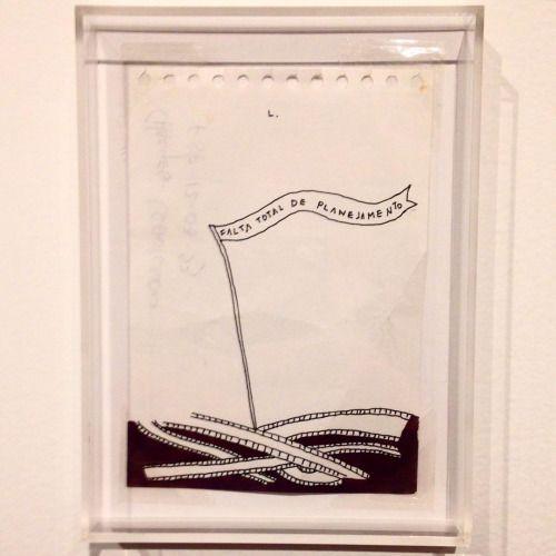 """Leonilson, 1991.  Começou ontem a exposição """"Leonilson: truth, fiction"""" no Centro Cultural Banco do Brasil -BH, com obras do artista de 1987 a 1993, incluindo sua última instalação.  Vale a pena conhecer :)  #leonilson #art #eusouatoa #ccbb (at Ccbb Bh)"""