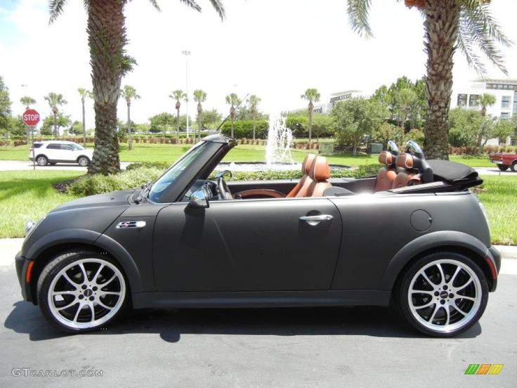 Matte Grey 2008 Mini Cooper S Convertible Exterior Photo #66794244 ...