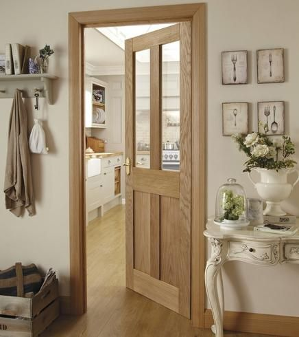 Burford 4 Panel Oak Glazed. Doors to have in downstairs of house