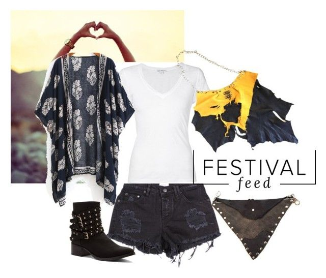 """""""Fall festival fashion"""" by theoddportrait ❤ liked on Polyvore featuring James Perse and Penny Loves Kenny"""