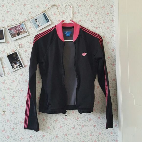 Adidas Training Jacket Women's Small Size Adidas Pink & Black Training Jacket Adidas Jackets & Coats