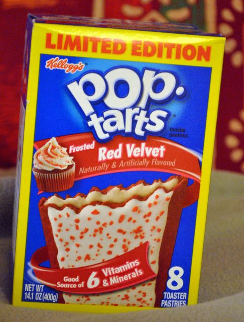 Red Velvet Pop Tarts