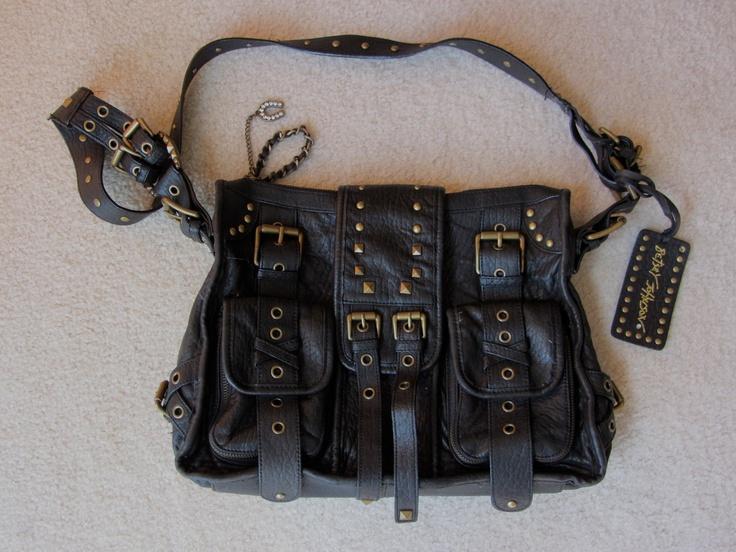 Betsey johnson studded bag