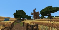 Medieval / Skyrim Wheat Farm Minecraft Map Download | Surviving ...