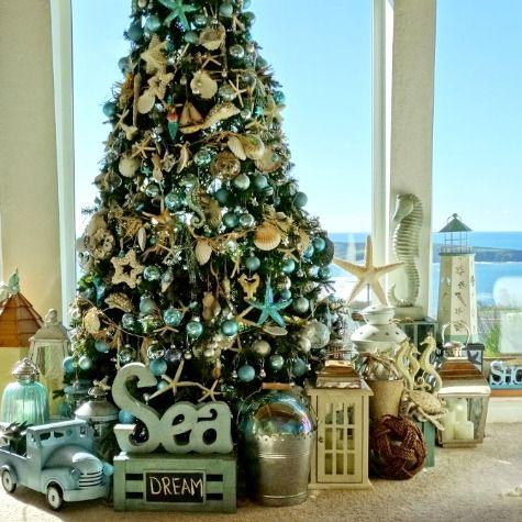 73 best coastal christmas images on pinterest | coastal christmas