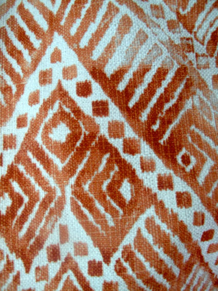 Agadir in copper  Pedroso&Osório 2014 collection #pedrosoeosorio #textiles #etnic #fabrics #homedecor www.pedrosoeosorio.com