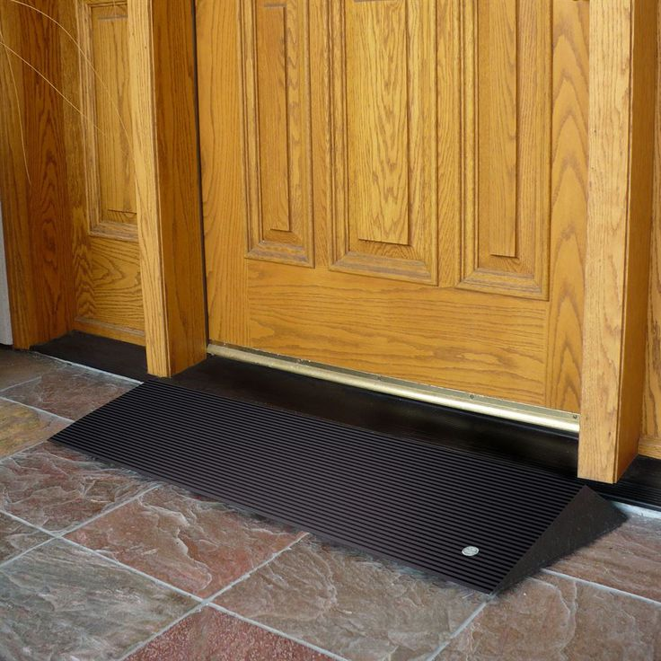 Wheelchair Access Front Door: Best 25+ Threshold Ramps Ideas On Pinterest
