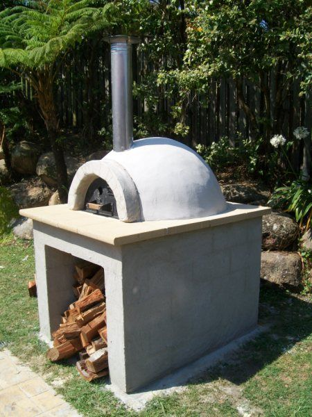outdoor wood fired oven for our outdoor kitchen because
